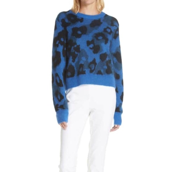 rag & bone Sweaters - NWT Rag and Bone Leopard crew